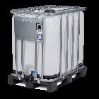 IBC-Container 800l neu UN-Gefahrgutzulassung auf Kunststoffpalette