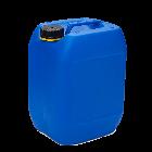 Kanister 10l blau 480g. 51er Öffnung mit UN-X-Gefahrgut- und Lebensmittelzulassung