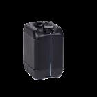 Kanister 10l schwarz 560g. 50er Öffnung leitfähig mit UN-X-Gefahrgut- und Lebensmittelzulassung