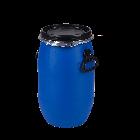 Kunststoffdeckelfass 30l mit Entgasungsventil und Gefahrgutzulassung