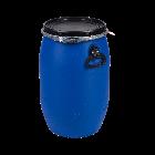 Kunststoffdeckelfass 60l mit Entgasungsventil und Gefahrgutzulassung