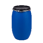 Kunststoffdeckelfass 120l mit Entgasungsventil und Gefahrgutzulassung