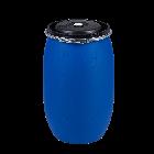 Kunststoffdeckelfass 120l flüssigkeitsdicht mit Gefahrgutzulassung