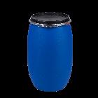 Kunststoffdeckelfass 120l STANDARD mit Gefahrgutzulassung