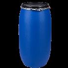 Kunststoffdeckelfass 150l STANDARD mit Gefahrgutzulassung