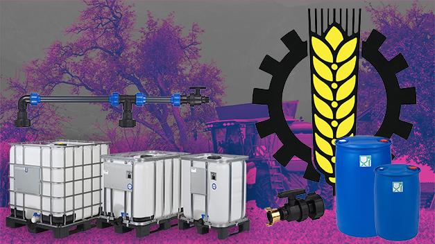 Unsere IBC-Behälter eignen sich für die Verwendung in der Landwirtschaft