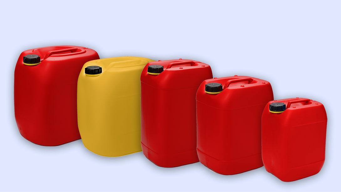 Hochwertige Kunststoffkanister in vielen Volumina verfügbar